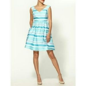 Lilly Pulitzer Kiera Striped A-Line Dress Size 10